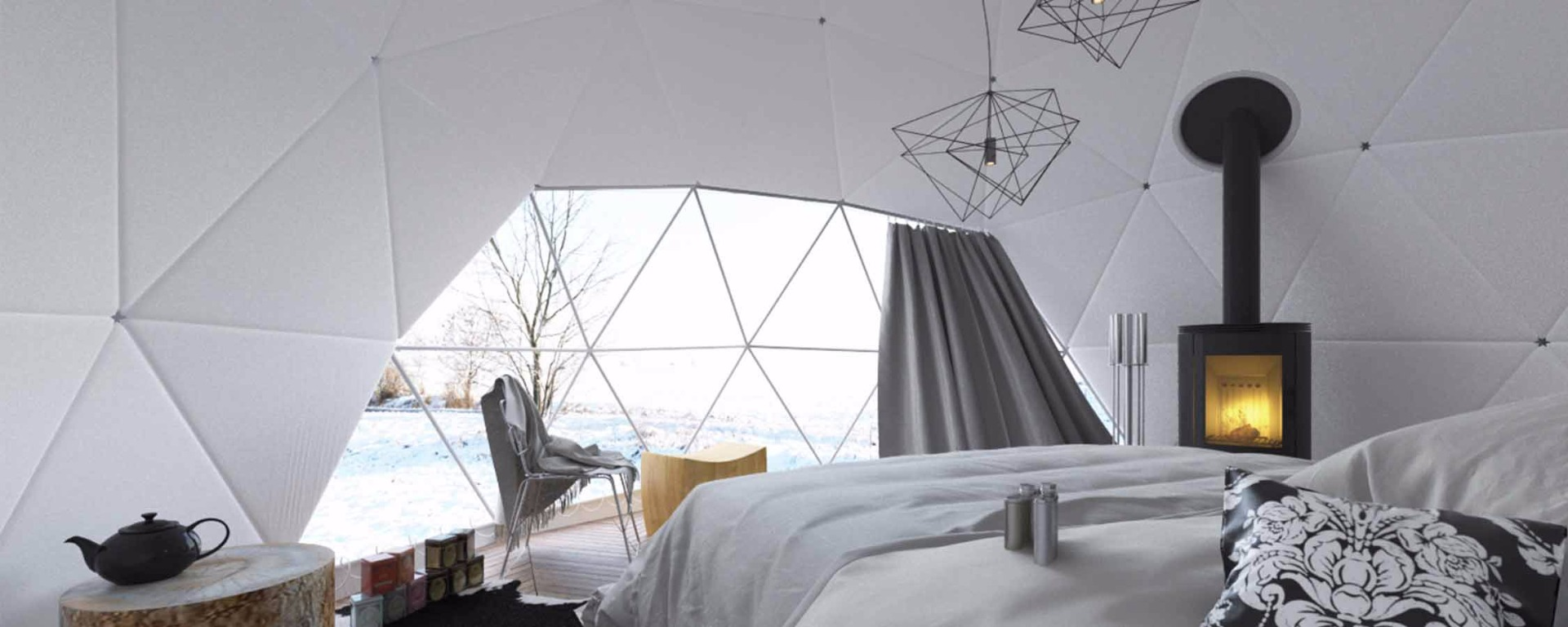 Habitación Domo Geodésico